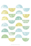 Semi Circle Block Print I Láminas por Grace Popp