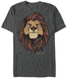 Lion King- King Face Skjorter