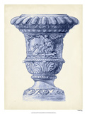 Palace Urns in Indigo II Giclee Print by Vision Studio