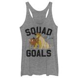 Juniors Tank Top: Lion King- Squad Goals Ermeløse toppen for damer