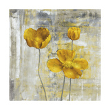 Yellow Flowers II Premium Giclee Print by Carol Black