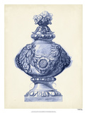 Palace Urns in Indigo I Giclee Print by Vision Studio