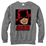 Crewneck Sweatshirt: Daredevil- Face Of A Hero Vêtement