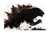 Monster Poster van Alex Cherry