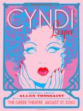 Cyndi Lauper Kunstdrucke von Kii Arens