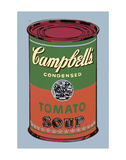 Campbell's Soup Can, 1965 (Green and Red) Poster di Andy Warhol