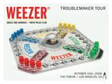 Weezer The Forum 2008 Poster von Kii Arens