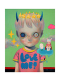 Children of This Planet 32 Giclée-Premiumdruck von Hikari Shimoda