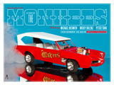 The Monkees In Concert Kunstdrucke von Kii Arens