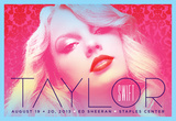 Taylor Swift Print by Kii Arens