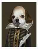 Shakespeare (Pets Rock) Póster por  Takkoda