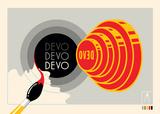 Devo 2009 Poster von Kii Arens
