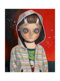 Children of This Planet 36 Giclée-Premiumdruck von Hikari Shimoda