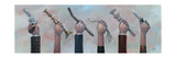 Choose Your Weapon Kunstdrucke von Aaron Jasinski