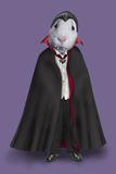 Dracula (Pets Rock) Poster par  Takkoda