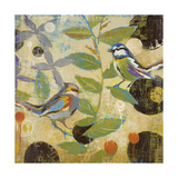 Flew the Coop II Premium Giclee Print by Liz Jardine