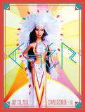 Cher 2014 Poster von Kii Arens