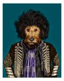 Psychedelic (Pets Rock) Posters por  Takkoda