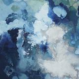 Blu Flo Premium Giclée-tryk af Randy Hibberd
