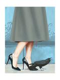 Here Comes the Queen Giclée-Premiumdruck von Alexander Grahovsky