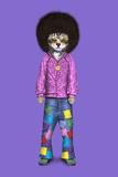 Disco (Pets Rock) Póster por  Takkoda
