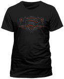 Batman vs. Superman- Ornate Logo T-skjorter