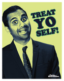 Parks And Recreation- Tom Treat Yo Self Poster
