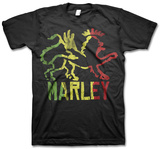 Ziggy Marley- Jamaican Tri-Color Lion T-Shirt