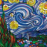 Howie Green- Starry Night Fotografia por Howie Green