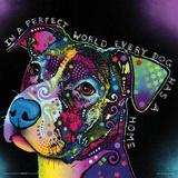 Dean Russo- Dog World Pôsters por Dean Russo