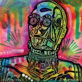 Dean Russo- Robot Face Posters por Dean Russo