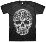 Architects- Tattooed Skull T-Shirt