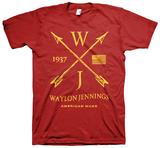 Waylon Jennings- American Made T-Shirts