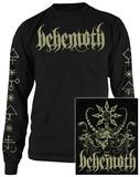 Long Sleeve: Behemoth- Demon (Front/Back) T-shirt a maniche lunghe