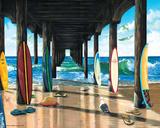 Scott Westmoreland- Pier Group Kunstdrucke von Scott Westmoreland