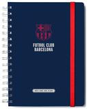 F.C. Barcelona Lined A5 Notebook with Envelope Lommebog