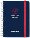 F.C. Barcelona Lined A5 Notebook with Envelope Diario