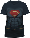 Batman vs. Superman- Superman Costume Tee Sublimated