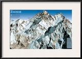 Mt. Everest Map Posters