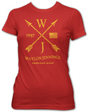 Women's: Waylon Jennings- American Made T-shirts