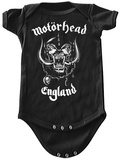 Infant: Motorhead- England Onesie Body para bebê