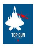 Filmposter Top Gun, 1986 Poster van David Brodsky