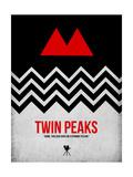 Twin Peaks Poster von David Brodsky