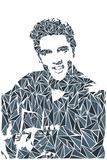 Elvis Presley Poster von Cristian Mielu