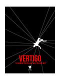 Filmposter Vertigo Print van David Brodsky