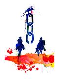 Unchained Watercolor Kunstdrucke von Lora Feldman