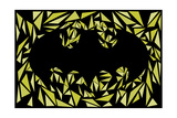 Batman Symbol Plakat af Cristian Mielu
