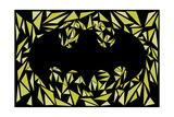 Batman Symbol Kunstdruck von Cristian Mielu