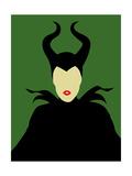 Maleficent Art by David Brodsky