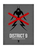 District Poster von David Brodsky